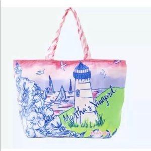 Lilly Pulitzer Martha's Vineyard Beach Bag $118